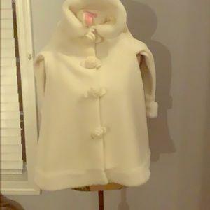 White/off white jacket.
